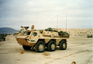 BLUE FORCE VEHICLE