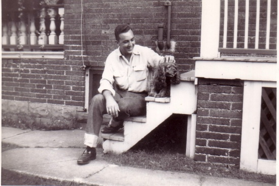 DAD IN ONT CANADA 1955