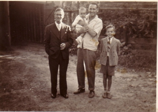 GRAMPA WALLY, DAD,UNCLE CRAIG 1943