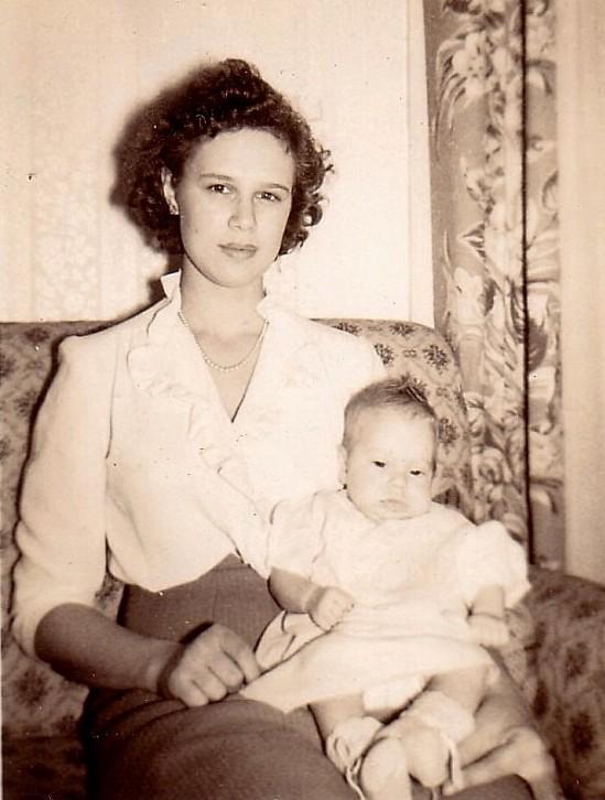 Patsy Mae Jones & Patricia Diane 1943