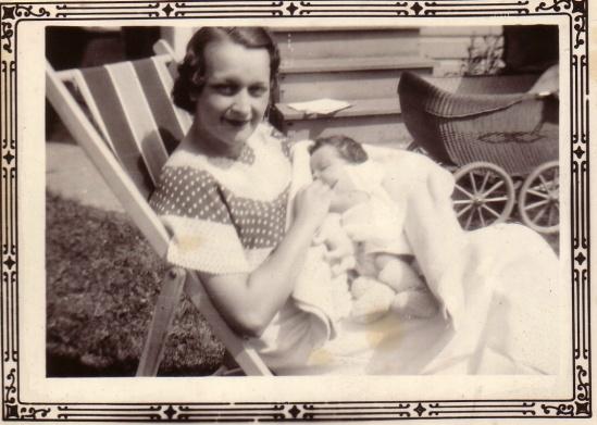ETHEL AND RONNIE PRESCOTT 1933